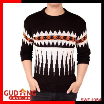 Pencarian Termurah Gudang Fashion - Sweater Modis Pria Tribal - Hitam Putih harga penawaran - Hanya Rp41.922