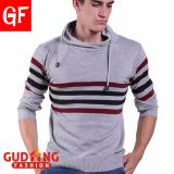 Toko Gudang Fashion Sweater Pria Casual Abu Muda Terlengkap