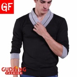 Harga Gudang Fashion Sweater Pria Keren Terbaru Hitam Original