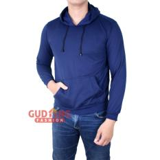 Gudang Fashion Sweater Pria Smart Casual Dongker Original
