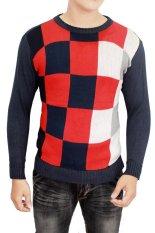 Harga Gudang Fashion Sweater Rajut Keren Kombinasi Warna Origin