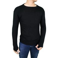 Toko Gudang Fashion Sweater Rajut Keren Pria Hitam Gudang Fashion