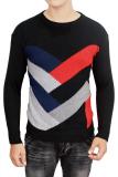 Jual Gudang Fashion Sweater Rajut Laki Laki Kombinasi Warna Branded Murah
