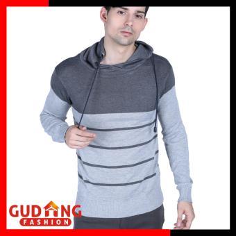 Pencarian Termurah Gudang Fashion - Sweater Rajut Pria Lengan Panjang - Kombinasi Warna harga penawaran - Hanya Rp66.829