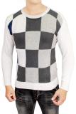 Harga Gudang Fashion Sweater Rajut Untuk Pria Kombinasi Warna Seken