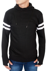 Review Toko Gudang Fashion Sweater Rajutan Hitam
