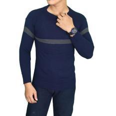 Beli Gudang Fashion Sweater Trendy Pria Dongker Murah Jawa Barat