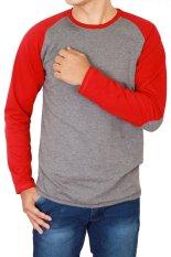 Ulasan Tentang Gudang Fashion T Shirt Lengan Panjang Pria Abu