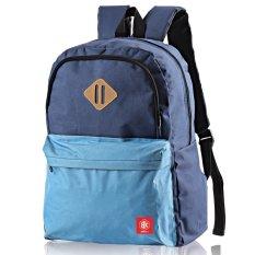 Toko Gudang Fashion Tas Backpack Pria Blue Lengkap