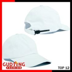 Gudang Fashion - Topi Baseball Polos - Putih