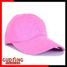 Gudang Fashion - Topi Terbaru Wanita - Merah Muda