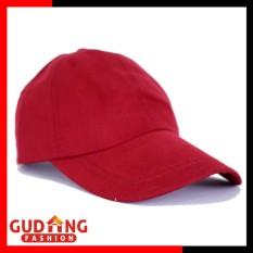 Gudang Fashion - Topi Keren Wanita Distro - Merah Maroon 1918a173b2