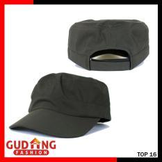 Gudang Fashion - Topi Komando Polos Terbaru Unisex - Hijau Army
