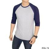 Gudang Fashion Tshirt Raglan Kaos Pria Casual Terbaru Banyak Pilihan Warna Keren Banten Diskon 50