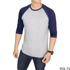 Harga Gudang Fashion Tshirt Raglan Kaos Pria Casual Terbaru Banyak Pilihan Warna Keren Satu Set