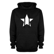 Model Gudangclothing Hoodie Captain America Star Hitam Terbaru