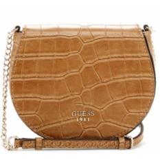 Tas Wanita Original Guess Cate Mini Woman Crossbody Bag CG621679 - Butterscotch