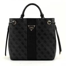 Tas Wanita Original Guess Cooper Woman Shoulder Bag GYSG634230 - Coal
