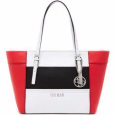 Tas Wanita Original Guess Delaney Shoulder Bag LC453522 - Red Multi