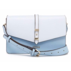 Tas Wanita Original Guess Gia Woman Small Crossbody Bag 633718 - Chambray Multi