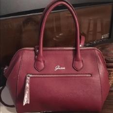 Tas Wanita Original Guess Gracefully Woman Shoulder Bag SY613506 - Burgundy