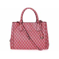 Tas Wanita Original Guess Jetset Woman Shoulder Bag SG643007 - Red Multi