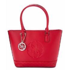 Tas Wanita Original Guess Korry Woman Shoulder Bag VG617222 - CNY Red