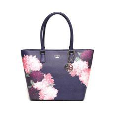 Guess Linnea Blue Sapphire Floral Multi Authentic
