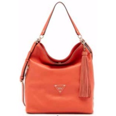 Tas Wanita Original Guess Thompson Woman Handbag / Shoulder Bag GYVS620903 - Coral