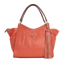 Tas Wanita Original Guess Thompson Woman Shoulder Handbag GYVS620908 - Coral