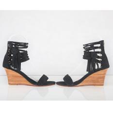 Sepatu Hitam Kulit, Design exclusif, handmade in bali , 100% genuine leather, GUINEVERE BLACK