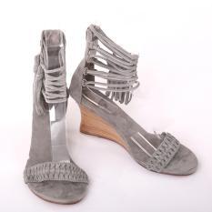 Sepatu Kulit Wanita, Women Leather Shoes, Handmade in Bali, GUINEVERE GREY