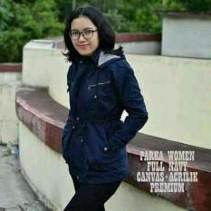 Spesifikasi Gunz Jaket Murah Parka Wanita Navy Best Seller Baru