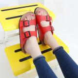 Situs Review Guoluofei Pria Dan Wanita Pakaian Luar Non Slip Sandal Bernapas Sandal Dan Sandal 101 Merah