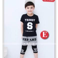 Harga Gw 121E Pakaian Anak Laki Laki Baju Setelan Kaos Fashion Lengkap