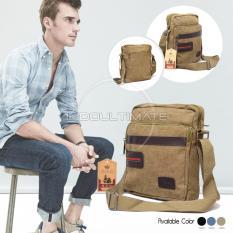 Toko Ultimate Tas Selempang Pria Keren Backpack Sling Bag Shoulder Bag 160812 Cream Terlengkap