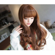 Hairclip Loss Wave 60Cm Light Brown Premium Rusfeta Diskon 50