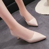 Harga Sepatu Heels Sedang Wanita Gaya Korea Nasi Putih Nasi Putih New