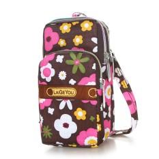 [Setiap Hari Harga Spesial] tas ponsel tas selempang gantung di leher perempuan sarung ponsel tas pergelangan tangan Uang Kecil kemasan Mini tas kecil