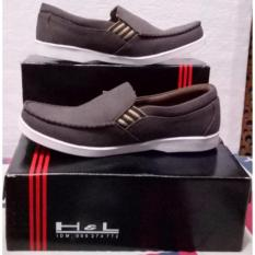 H&L Sepatu Pria Kulit Asli Model Roxy 03 Brown
