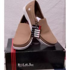 H&L Sepatu Pria Kulit Asli Model Roxy 03 Tan