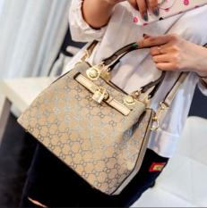 Hand Bag Tas Fashion Wanita Gold 367P Import Selempang Tas Korea Tali Multi Diskon