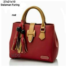 Diskon Hand Bag Wanita Merah Hasel R3