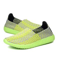 Tangan Tenun Sepatu Pasangan Hijau Not Specified Murah Di Tiongkok