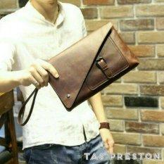 Harga Handbag Clutch Tas Tangan Pouch Preston Impor Yang Bagus