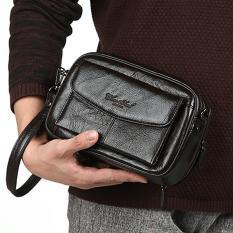 Handbag kulit CHEERSOUL 2248 [hitam] - tas tangan pria - tas tangan wanita