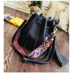 Review Terbaik Handbag Tas Serut Import Korea Bahan Kulit Pu 2 In 1 Premium High Quality Jhs 01