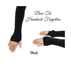 Handsock Jempol Pita Polos - Manset Tangan Jempol Pita Polos Premium Aksesoris Berhijab Aksesoris Muslim Wanita Deker Tangan Sarung Tangan Muslimah Pelindung Tangan Anti Panas - Warna Random