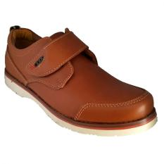 Cuci Gudang Handymen Chs 04 Casual Formal Shoes Tan
