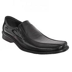 Beli Handymen Hk Lak 809 Dress Shoes Genuine Leather Hitam Cicil